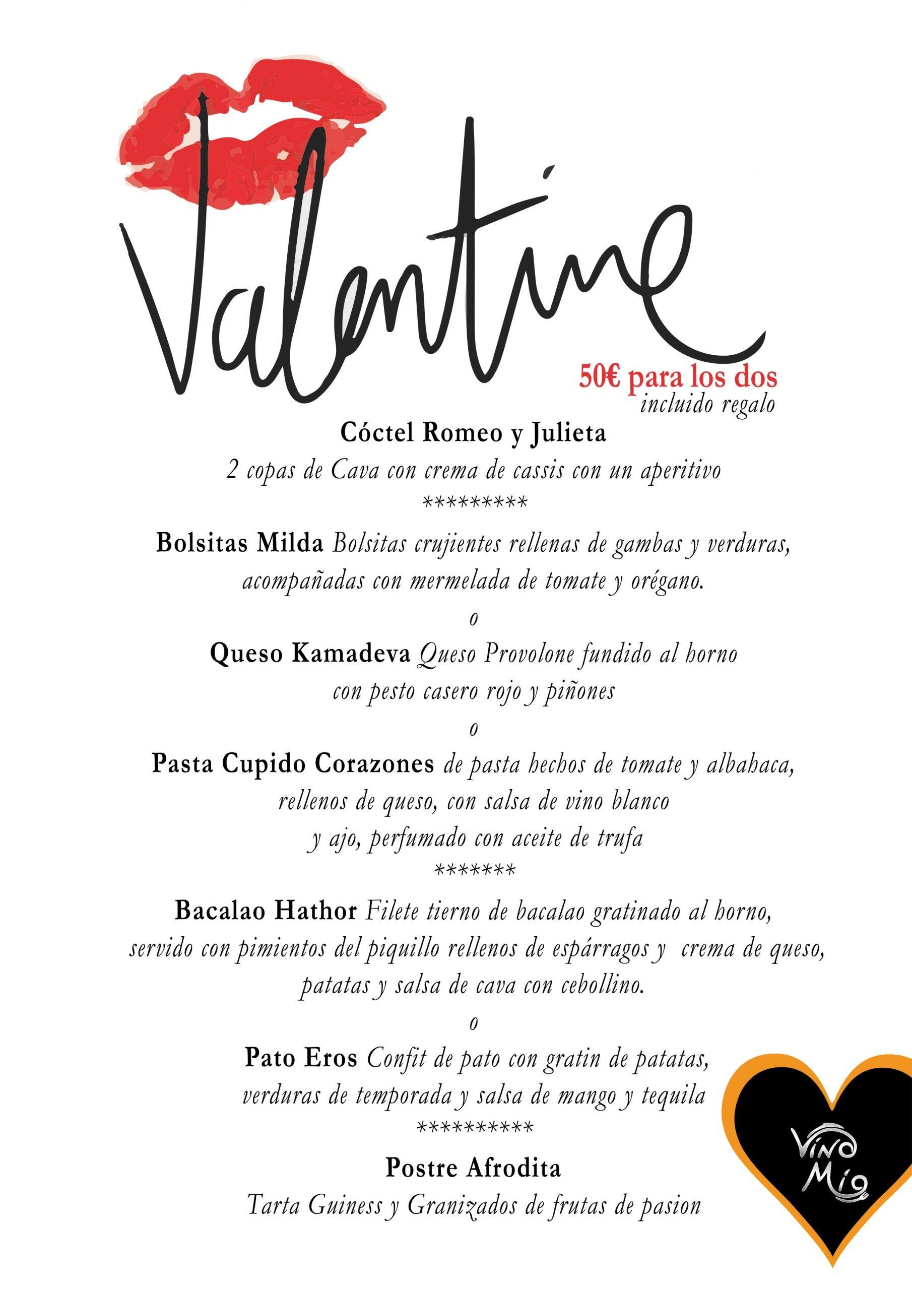 Valentine in Vino Mio